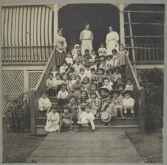 Alexander House, Kindergarten Class, Wailuku, 1903