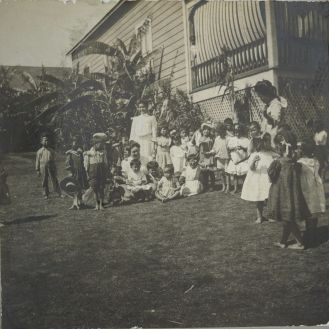 Alexander House Settlement-Kindergarten group-1903