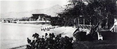 AlfredMitchellHouse(right-foreground)-IrwinHouse(center-background)