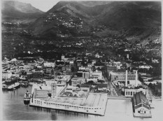 Aloha Tower under construction-before Irwin Park-PP-38-9-011-1925