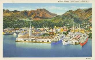 Aloha_Tower-Honolulu_Harbor-Postcard-aerial-1935