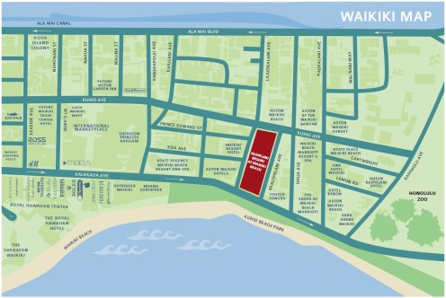 Alohilani location map-Beall