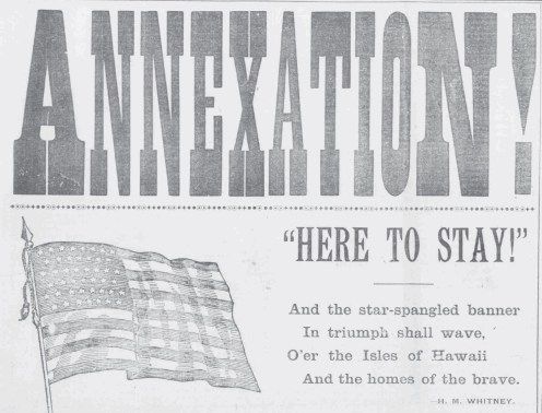 Annexation-Here to Stay-PCA-July 14, 1898