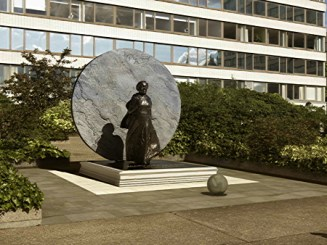 Artist rendition of proposed Mary Seacole Statue