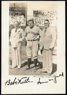 Babe_Ruth at Honolulu Stadium
