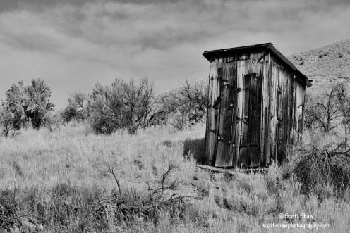 Bannack-Outhouse-Shaw
