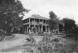 Bernice Pauahi's residence at Haleʻākala build by her father Abner Paki. The building itself is called Aikupika-1855