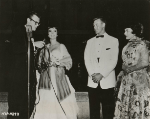 Bill Anderson interviewing Natalie Wood