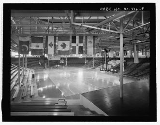 Block Arena-Interior of arena, with stage on right-LOC