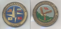Bosnia Challenge Coin