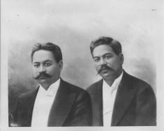 Brothers David Kawananakoa (1868-1908) and Jonah Kuhio Kalanianaole (1871-1922)-PP-97-2-023