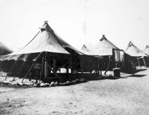 Able Company's mess tent, Camp Maui. Spring 1944.