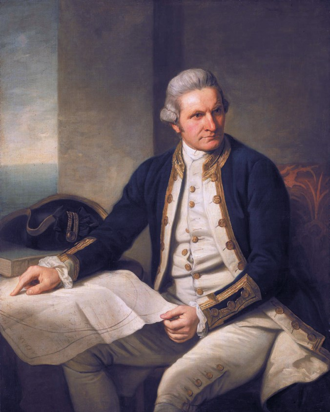 Captain James Cook (1728-1779) *oil on canvas *127 x 101.6 cm *1775-1776