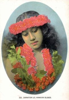 Carnation Lei-1910s