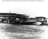 Catalina Flying Boat Destroyed