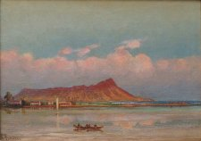 Charles_Furneaux,_Waikiki_with_a_view_of_Diamond_Head_c._1885