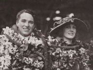 Charlie & Edna in Hawaii, 1917