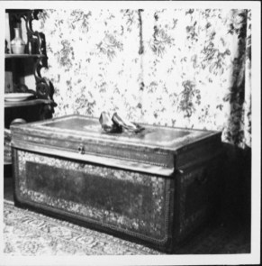 Chest believed to have belonged to Don Francisco de Paula y Marin-PP-37-4-005