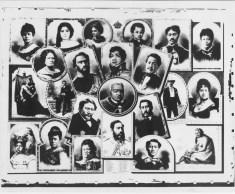Collage of Kamehameha and Kalakaua dynasties-HSA