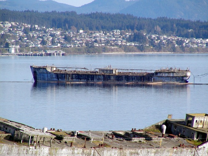 Concrete Floating Breakwater-Powell River in British Columbia, Canada-YOGN-82
