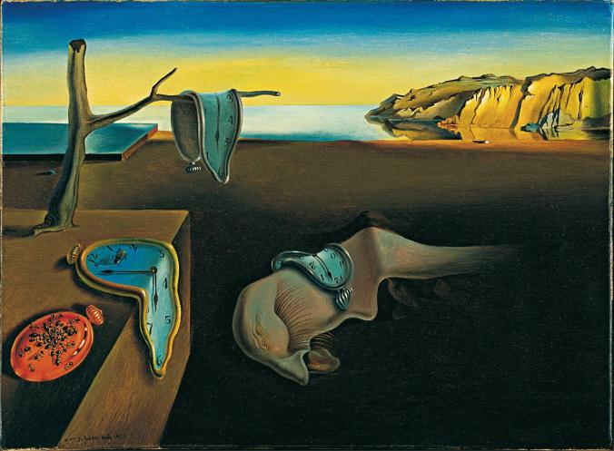 Dali-The Persistence of Memory-1931