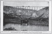 Dam and Reservoir at Wahiawa under construction-PCA-Feb_15_1906