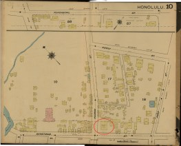 Downtown and Vicinity-Dakin-Fire Insurance- 10-Map-1891-Commercial Hotel-noted