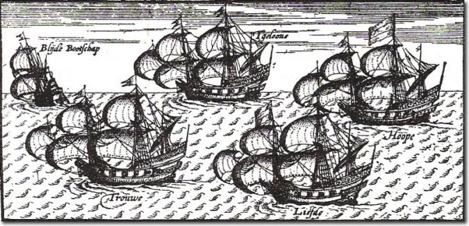 Dutch Fleet to Japan