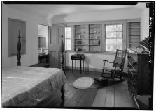 EAST ROOM, SECOND FLOOR - Mission Frame House-(LOC)-1966