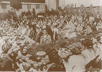 Early YWCA Luau-(YWCA)
