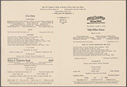 El_Tovar_Hotel-menu-1953