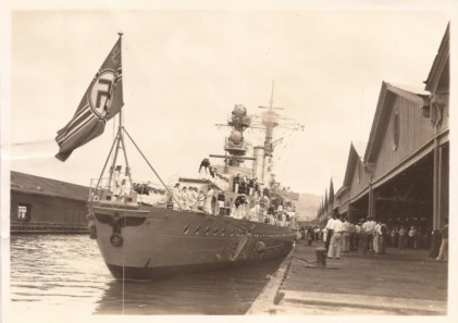Emden in Honolulu Harbor