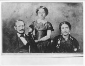 Emma with her parents Grace Kamaikui and Dr. Thomas Charles Byde Rooke-(HSA)-PP-96-3-018-1853