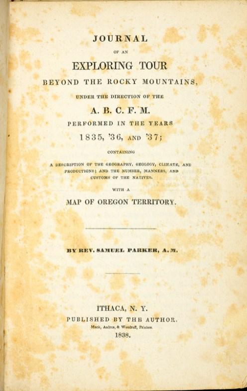 Exploring Tour Beyond the Rocky Mountains-Parker