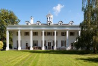 Exterior of the French reproduction of Mount Vernon-NYTimes