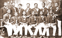 First Graduating Class of the Kamehameha School for Boys-(KSBE)-1891