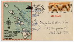 First-official-Interisland air mail-Oct 8, 1934