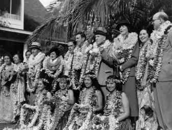 First paying passengers of the Pan American Hawaii Clipper-PP-1-9-002-1936