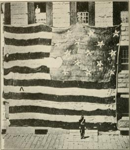 Flag over Fort McHenry-1814-(WC)