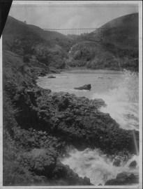 Flume crossing a gulch, Hamakua, Hawaii Island-PP-28-11-003
