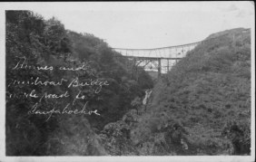 Flumes and railroad bridge on the way to Laupahoehoe-PP-30-2-005