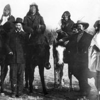 Frank Grouard and Indians