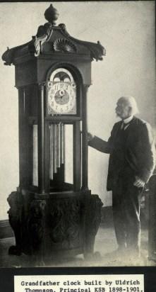 Grandfather-clock-built-by-Uldrich-Thompson-Principal-KSB-1898-1901