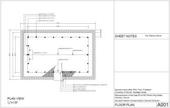 Hale Pili o na Mikanele-Richards Hale-Floor Plan