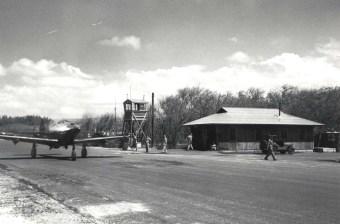 Bell P-39 aircraft at Haleiwa Field 1943-1944