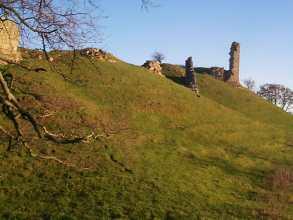 Harbottle Castle Ruins