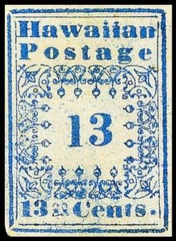 Hawaii_stamp_13c_1851