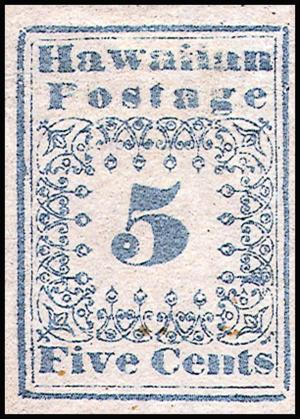 Hawaii_stamp_5c_1851