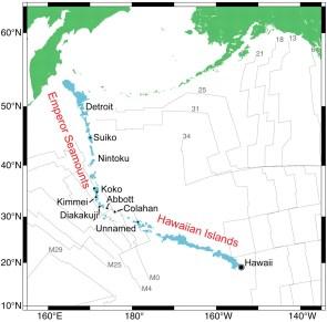 Hawaiian Islands - Emperor Seamounts