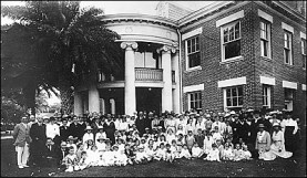 HawaiianMissionChildren'sSociety annual meeting at MissionMemorialBuildingComplex (next to HonoluluHale)-(honoluluadvertiser)-1918